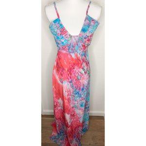 Bec & Bridge Watercolor Print Dress size 2